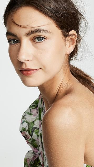Jane Taylor 14k 大号细贴耳耳环