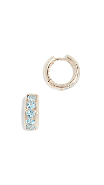 Jane Taylor 14k Huggie Earrings