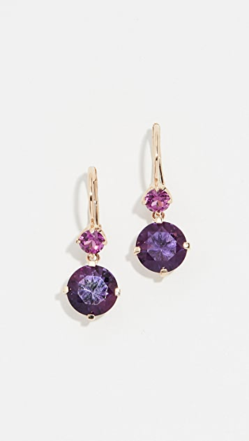 Jane Taylor 14k Small Double Drop Earrings