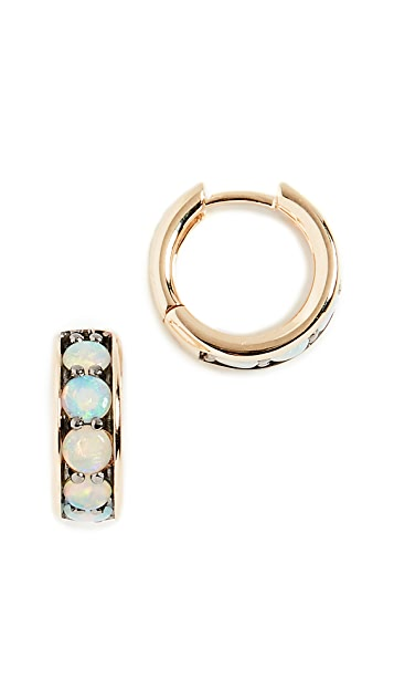 Jane Taylor 14k Chubby Hoop Earrings
