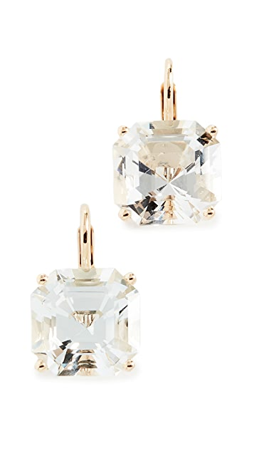 Jane Taylor 14k Octagonal Drop Earrings