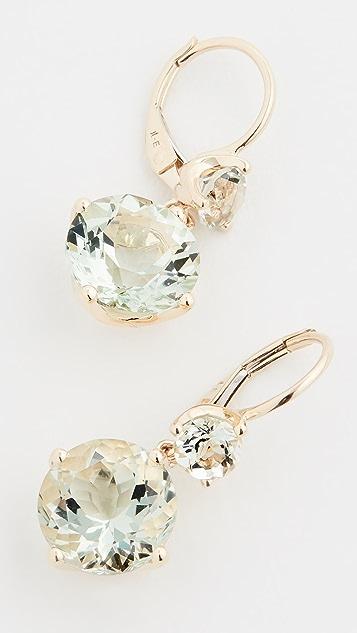 Jane Taylor 14k Double Drop Earrings