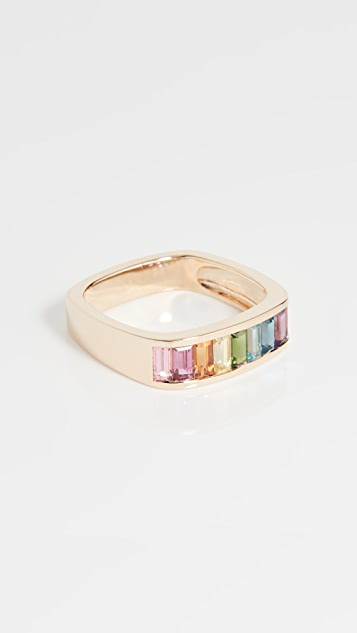 Jane Taylor Small Baguette Square Stacking Band