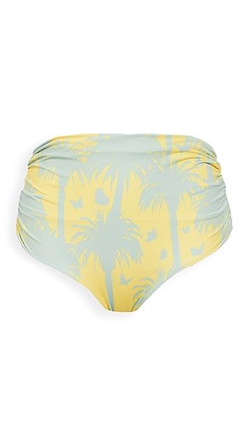 Juan de Dios Victoria Vintage Reversible Bikini Bottoms
