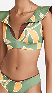 Juan de Dios Ave de Paraiso Bikini Top