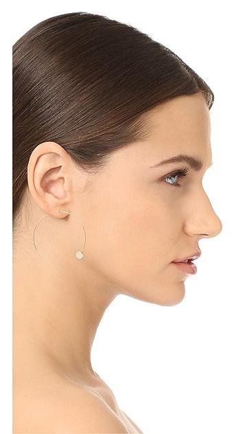 Jules Smith Amos Hoop Earrings