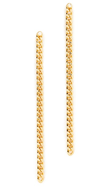 Jules Smith Bodhi Linear Drop Earrings