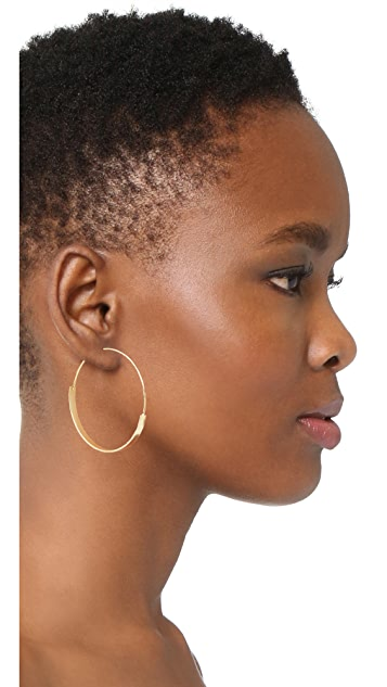 Jules Smith Kinley Hoop Earrings