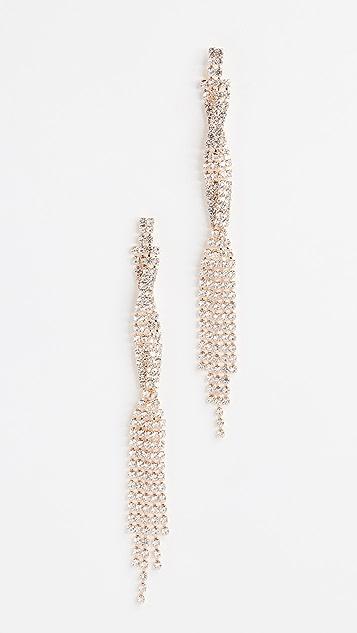 Jules Smith Sparkle Twist Earrings