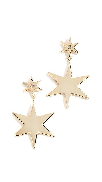 Jules Smith Серьги Star Bright