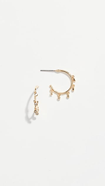 Jules Smith Ditsy Hoop Earrings