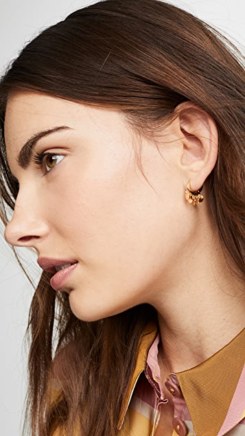 Jules Smith Disc Huggy Earrings