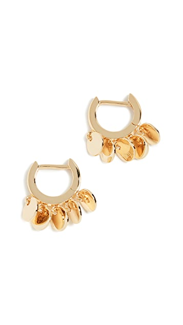 Jules Smith Disc Huggy Earrings