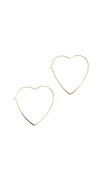 Jules Smith Love Me Hoop Earrings