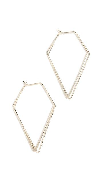 Jules Smith Geometric Hoops