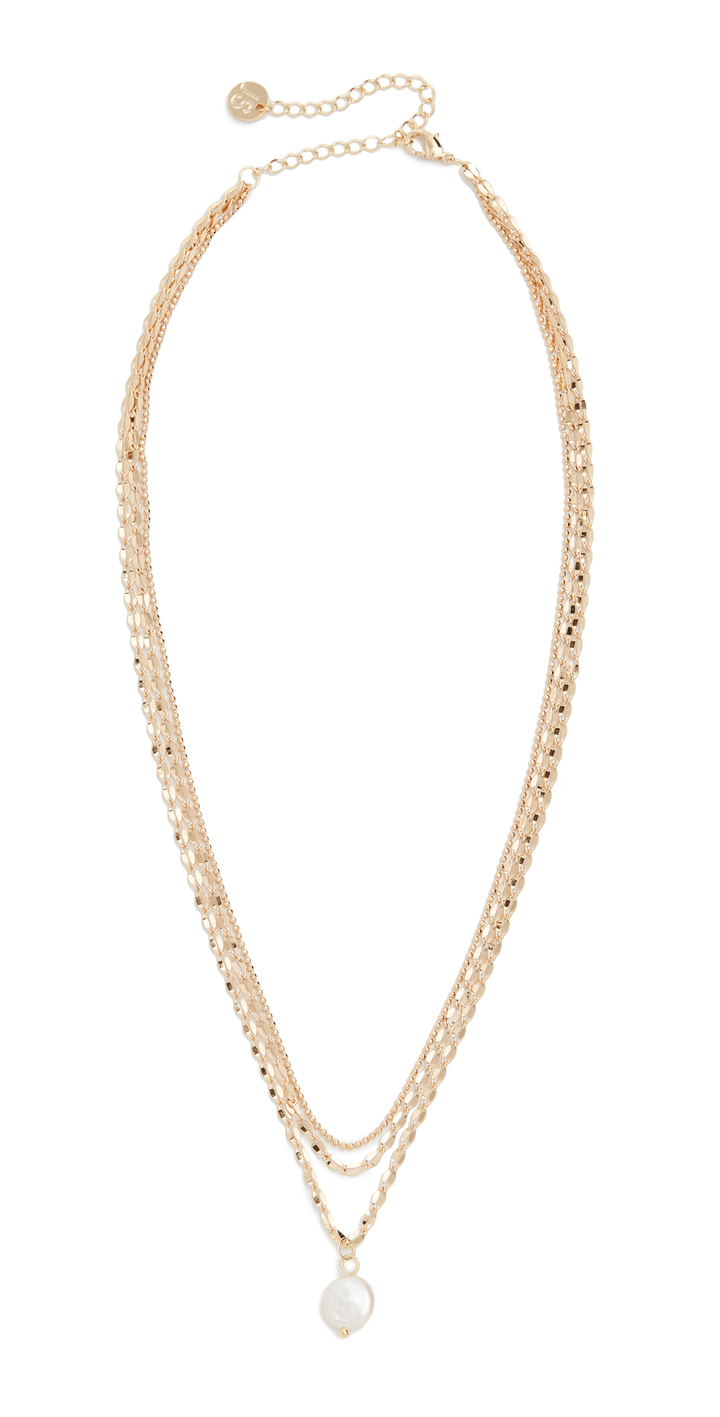 Layered Freshwater Pearl Mop Necklace