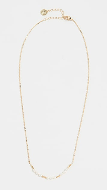 Jules Smith Beaded Cultured Pearl Necklace