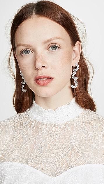 Jules Smith 水晶半月形耳环