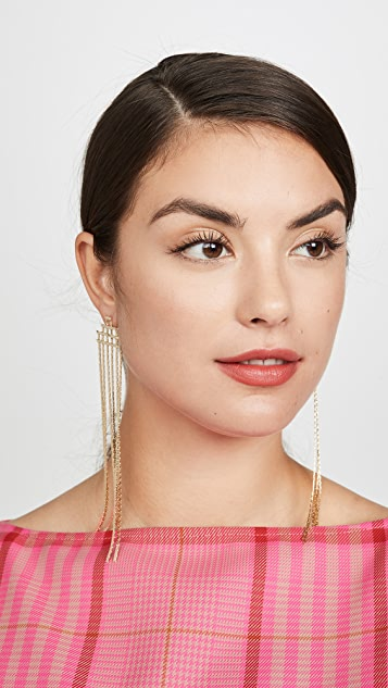 Jules Smith Disco Fringe Earrings