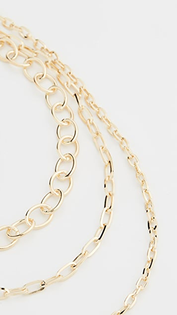 Jules Smith Layered Chain Necklace