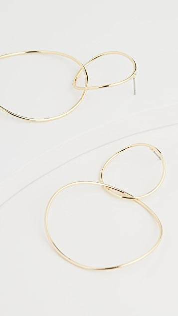 Jules Smith Double Wide Hoops