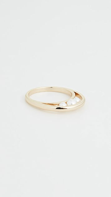 Jules Smith 珍珠环圈戒指