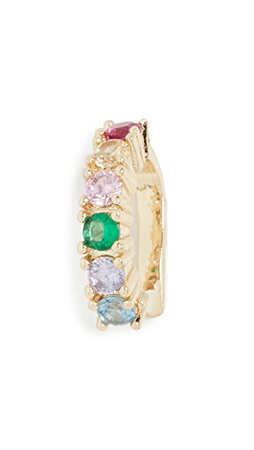 Jules Smith Rainbow Ear Cuff
