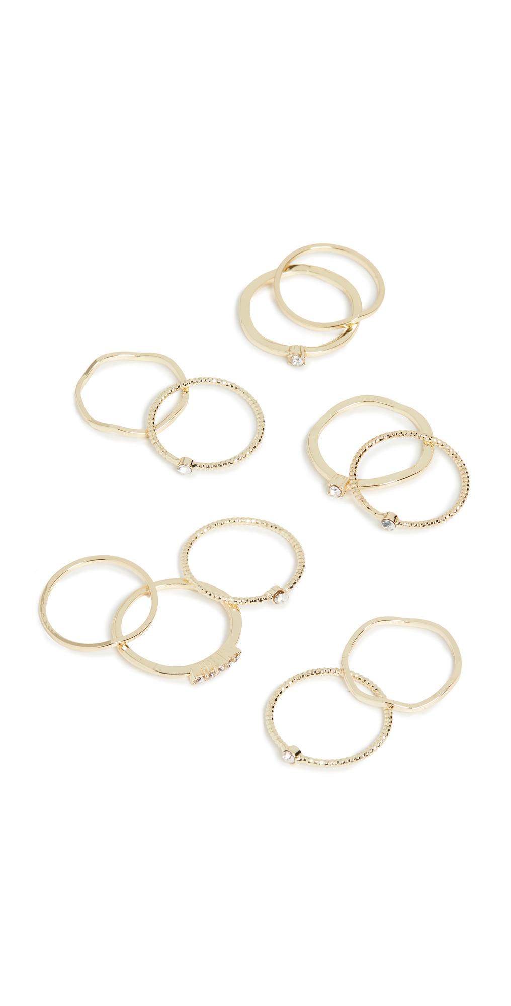 Layered Stacking Ring Set