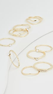Jules Smith Layered Stacking Ring Set