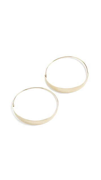 Jules Smith Flat Wire Invisible Hoops