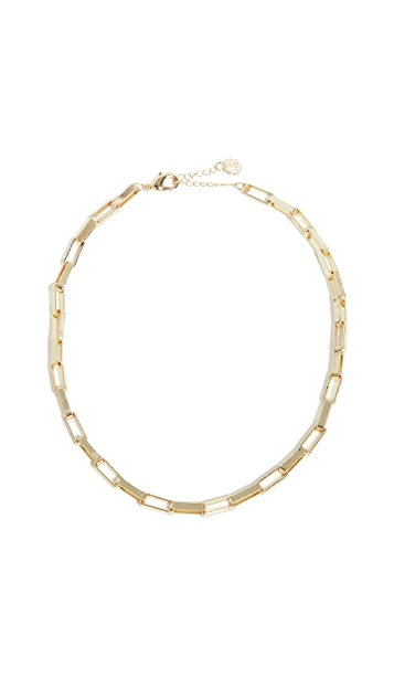 Jules Smith Flat Chain Necklace