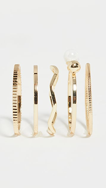 Jules Smith Pearl Ring Set