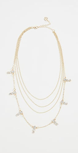 Jules Smith - Four Layer Crystal Necklace