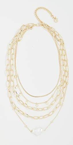 Jules Smith - Layered Irregular Baroque Bead Necklace