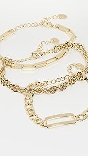 Jules Smith 多色组合链条手链
