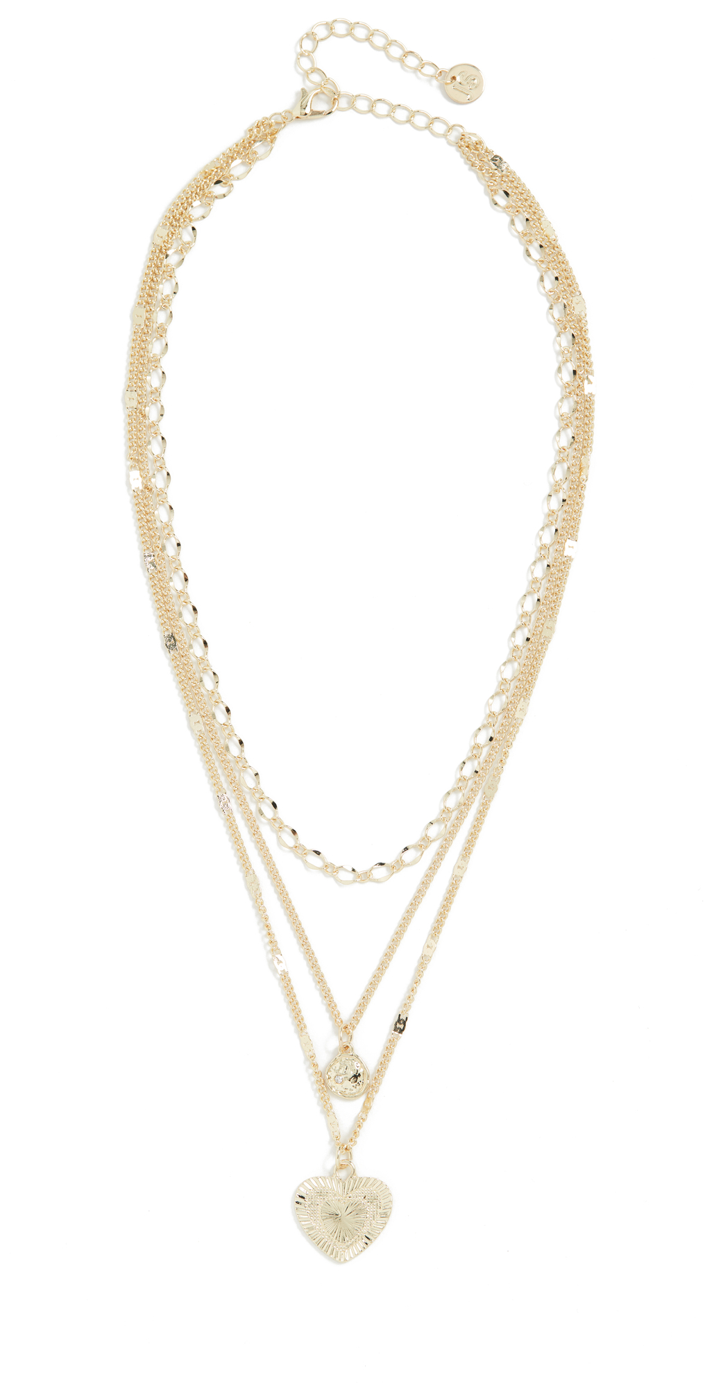 Love Me Crystal Layer Necklace