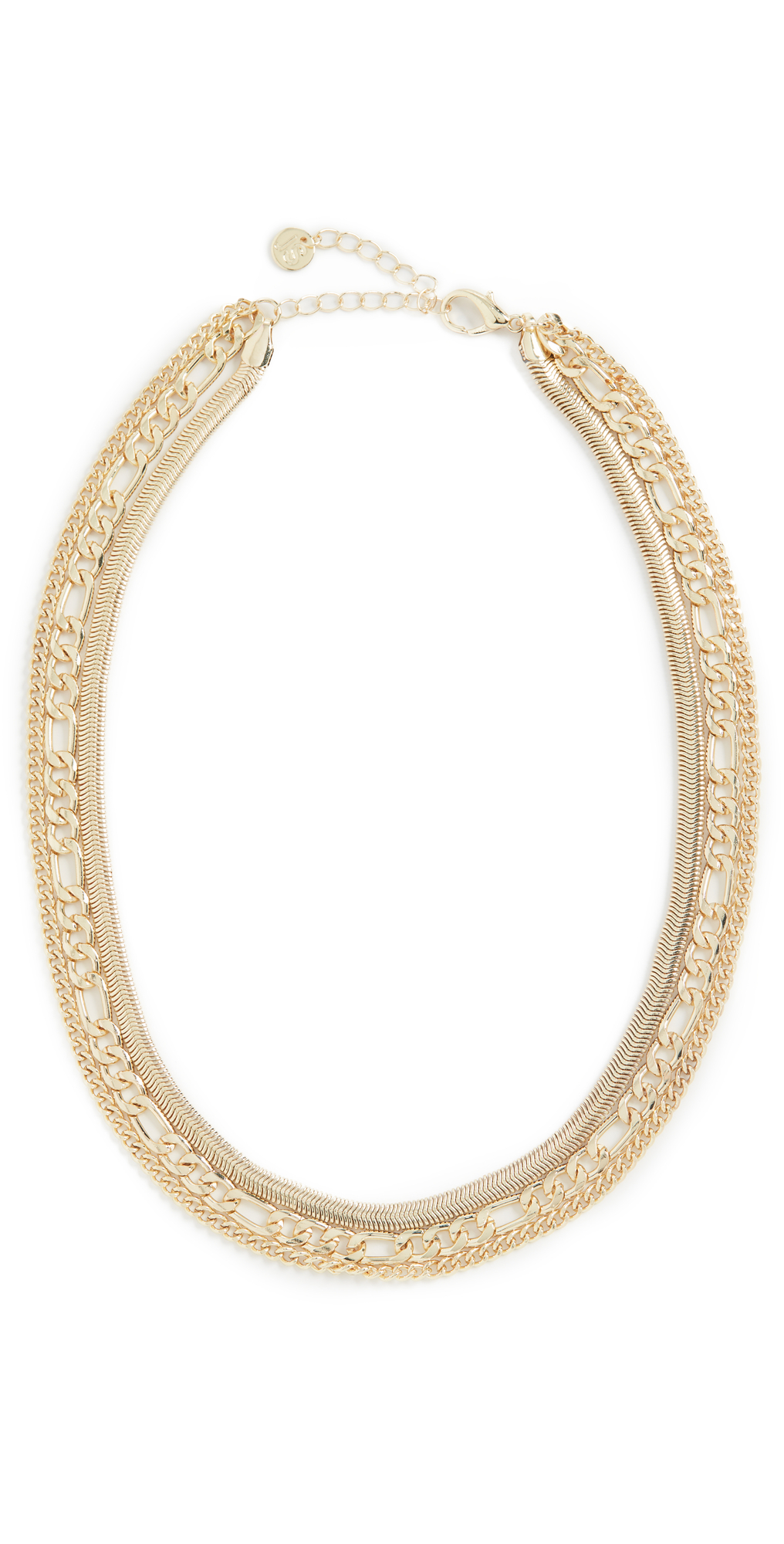 Assorted Flat Chain Necklace