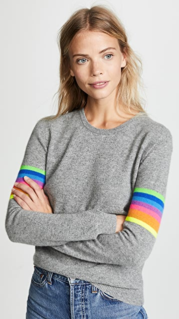 Jumper1234 Mexican Stripe Arm Sweater