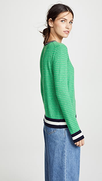Jumper1234 Narrow Stripe Cashmere Sweater