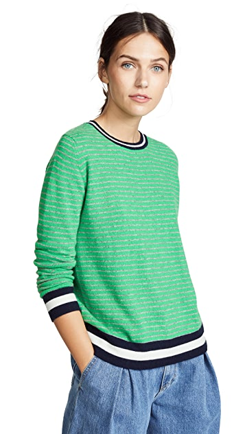 Jumper1234 Narrow Stripe Cashmere Sweater