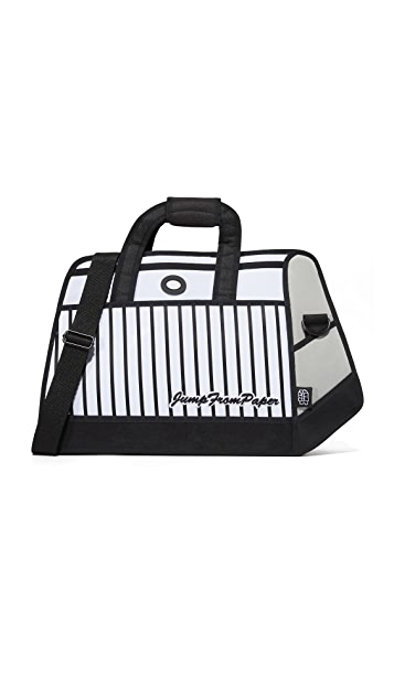 JumpFromPaper Stripe Travel Bag