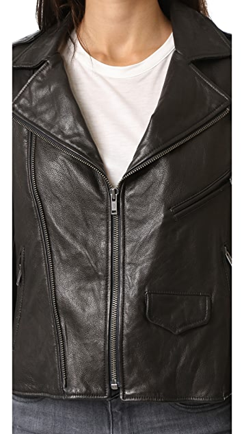 June Vintage Moto Jacket