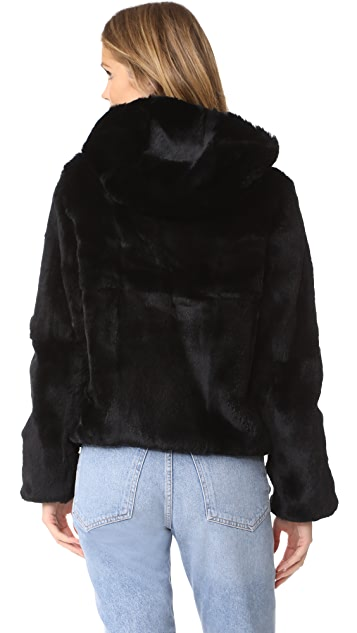 June Reversible Fur Jacket