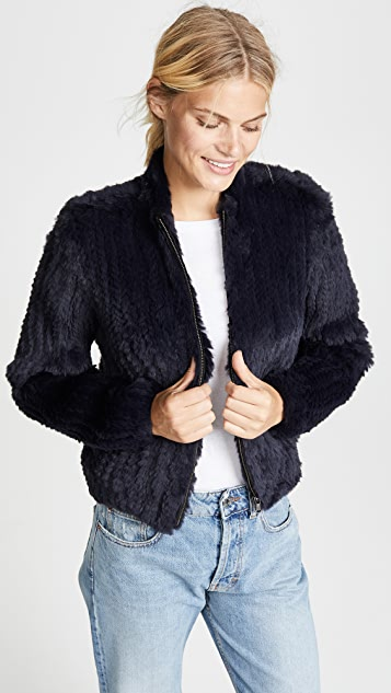 June Fur Bomber