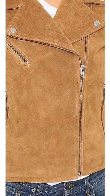 Just Female Suede Jacket