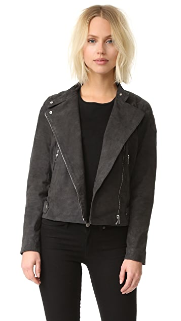Just Female Mila Suede Biker Jacket