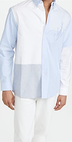 J.W. Anderson - Relaxed Patchwork Shirt