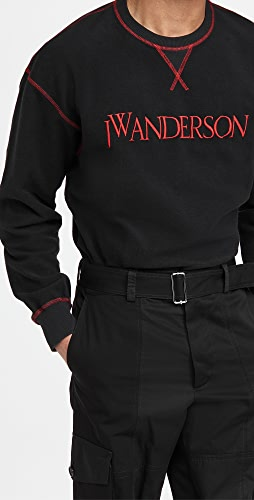 J.W. Anderson - Inside Out Contrast Sweatshirt
