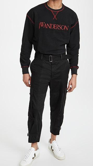 J.W. Anderson Inside Out Contrast Sweatshirt