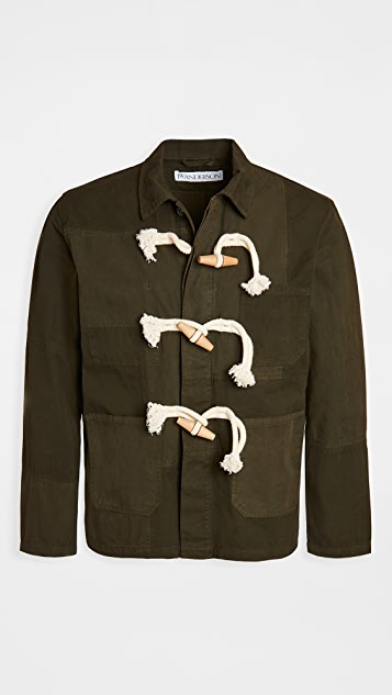 J.W. Anderson Workwear Jacket with Toggles